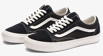 e4c6b64743 VANS VAULT OLD SKOOL OG LX BLACK MARSHMALLOW 8-12 fog fear of god yacht
