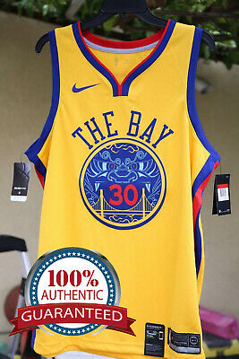 "Nike Warriors Authentic Jersey ""Chinese New Year"" Limited Stephen Curry  30 c7569fc04"