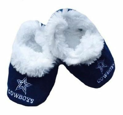 Dallas Cowboys Baby Booties Slippers Infant Childrens NFL Football Licensed Shoe