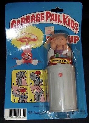 Vtg 1986 Imperial GPK Corroded Carl POP-UP Figure Garbage Pail Kids 1985 S 1 TOY