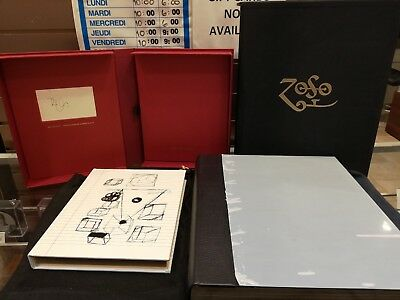 Genesis Publications Limited Numbered SIGNED BY JIMMY PAGE and ROBERT PLANT
