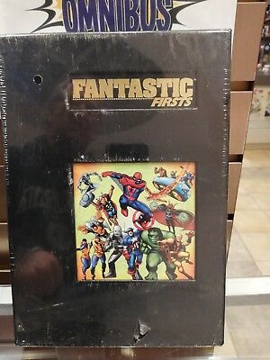 Marvel Limited Fantastic Firsts HC (Factory Sealed)  Avengers Spider-Man X-Men
