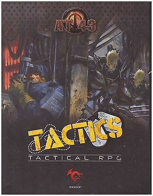 AT43: Campaign Book: AT-43 Tactics - Brand New