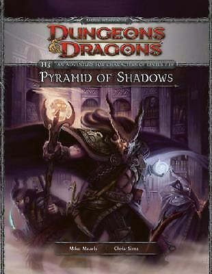 PYRAMID OF SHADOWS: D&D 4th Edition Adventure Module - Factory Sealed - New