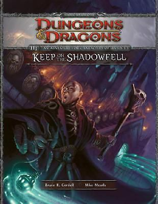 Keep on the Shadowfell: D&D 4th Edition Adventure Module - Factory Sealed - New
