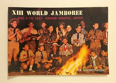 BOY SCOUTS OF NIPPON - Happy New Year Greeting Card - Japan 1971