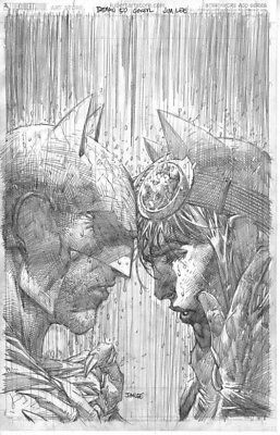 Batman #50 Jim Lee Pencil Sketch 1:100 Incentive Variant DC Comics 7/4/18