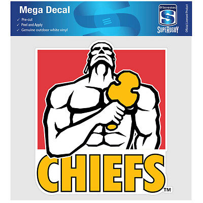 NZ Super Rugby Union Chiefs iTag Mega Decal Sticker
