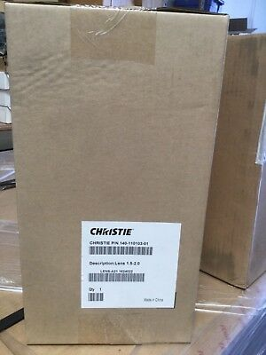New Christie Projector Short Zoom Lens 140-110103-01 1.5-2.0