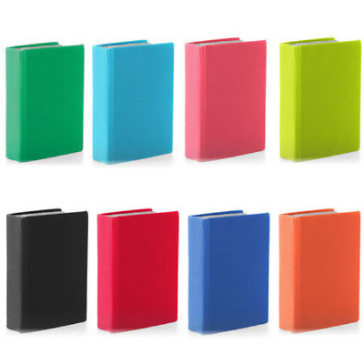 It's Academic Stretchable Book Covers Assorted Colors Set of 6
