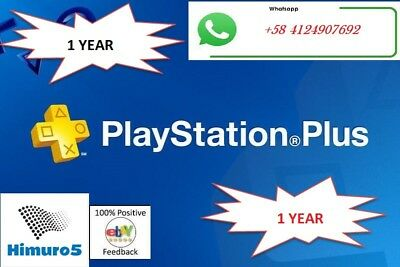PS PLUS 12 Months (24 Accounts x 14DAYS)  (NO CODE)