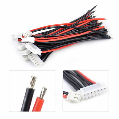 1-6S Lipo Battery Balance Connector Charger Adapter Charge Plug Cable Wire 12pcs