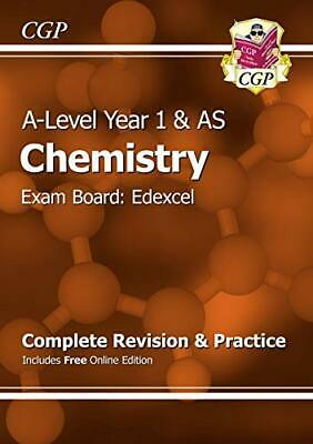 A-Level Chemistry: Edexcel Year 1 & AS Complete Revision & Pract... by CGP Books