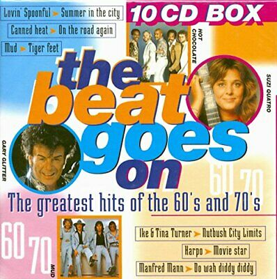 Various - Beat Goes on - Various CD I3VG The Cheap Fast Free Post The Cheap Fast