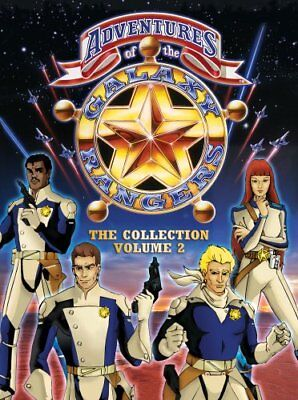 ADVENTURES OF THE GALAXY RANGERS VOL 2 New DVD 33 Shows