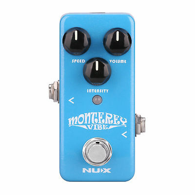 New Guitar Vibe Pedal Nux NCH1 Monterey Vibe Guitar Mini Effects Free Shipping