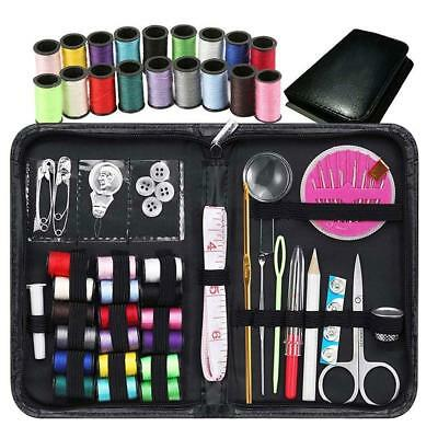 38pcs / set Sewing Kit Case Travel Home Needle Thread Band Scissor Key Craft^*'