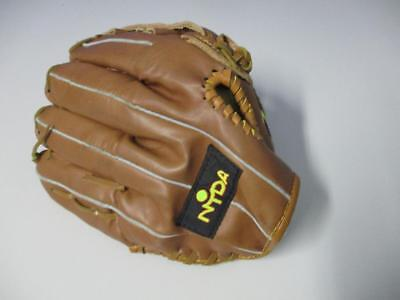 """Softball Baseball Nyda Glove Youth 11.5"""" - Right Hand Throw Leather Laced"""