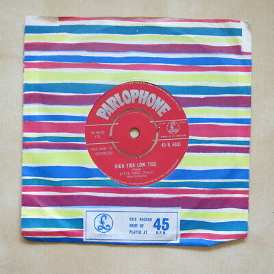 "STEVE RACE High Tide Low Tide / Follow The Scene  UK 7"" Parlophone 1963 Nr Mint"