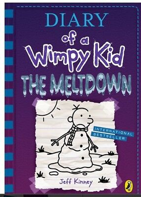 Diary of a Wimpy Kid:The Meltdown (book 13)PRE ORDER NOW For Oct 30 2018 Release