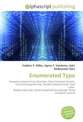 Enumerated Type - Frederic P. Miller -  9786130618674