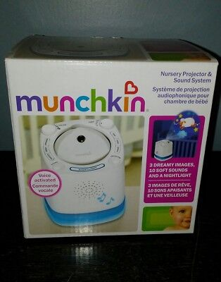 Munchkin Nursery Projector And Sound System With Images & Sound!