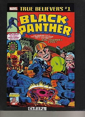 True Believers Black Panther #1 Nm Unread Reprint 1St In Title Jack Kirby 100Th
