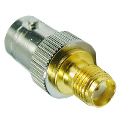 SMA Female to BNC Male RF Coaxial Adapter Converter Connecter Jack Plug