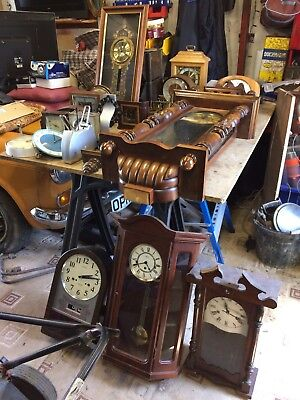 23 Clocks Spares Or Repair
