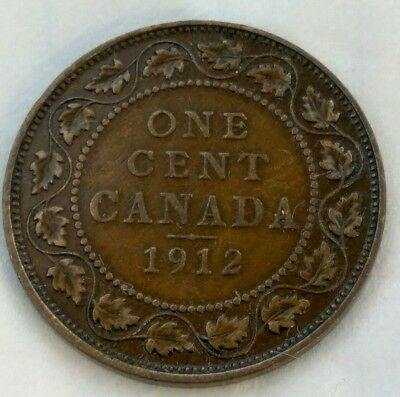 one cent 1912 canada