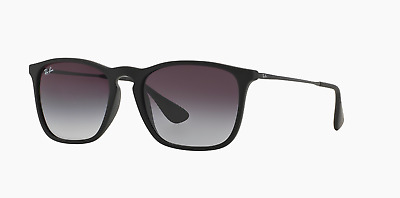 7906f08595 RAY-BAN CHRIS RB 4187 Sunglasses Rubber Black   Grey Gradien ...