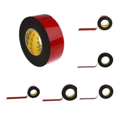 Double-sided Foam Adhesive Tape Automotive 10 Meters Long Tape Roll 7 Sizes