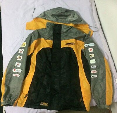 V8 Supercars Lined Jacket Waterproof with Hoodie