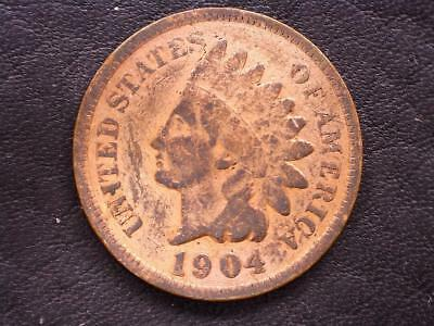 1904 Indian Head Cent: Lustrous Red  ***Special*** (04IP20181)