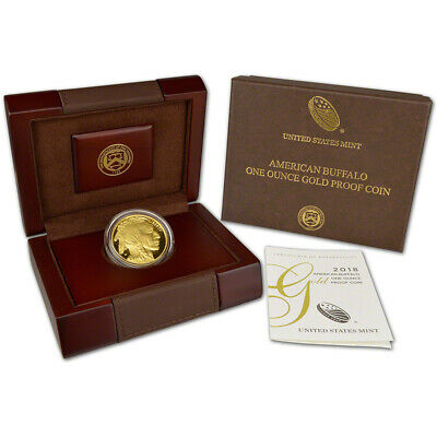 2018-W American Gold Buffalo Proof (1 oz) $50