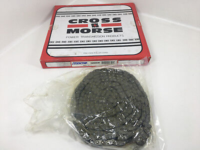 CROSS MORSE 06B-2 Precision Roller Chain With Connecting Link 10' Foot NEW