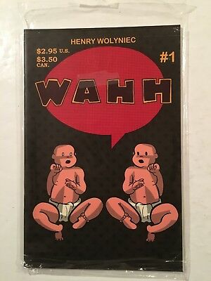 WAHH #1 Comics, by Henry Wolniec 1997, Collectible
