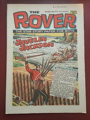 The Rover Comic - December 18th 1971 - The Star Story Paper for Boys #B2170