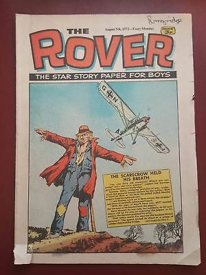 The Rover Comic - August 5th 1972 - The Star Story Paper for Boys #B2146