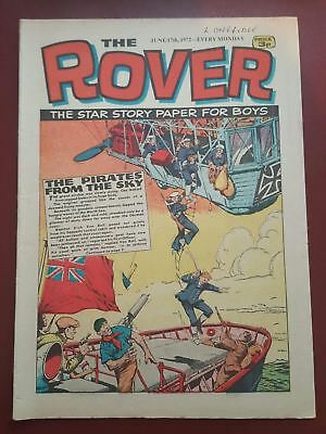 The Rover Comic - June 17th 1972 - The Star Story Paper for Boys #B2142