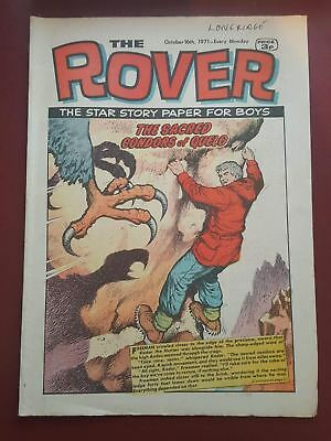 The Rover Comic - October 16th 1971 - The Star Story Paper for Boys #B2156