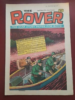 The Rover Comic - April 22nd 1972 - The Star Story Paper for Boys #B2134