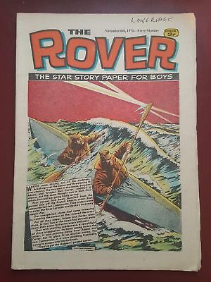 The Rover Comic - November 6th 1971 - The Star Story Paper for Boys #B2176