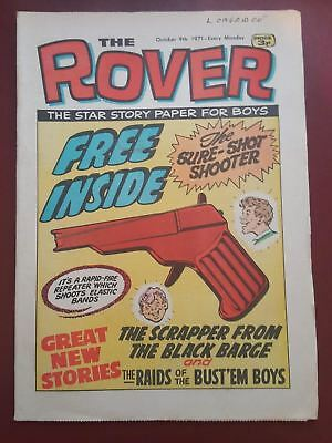 The Rover Comic - October 9th 1971 - The Star Story Paper for Boys #B2155