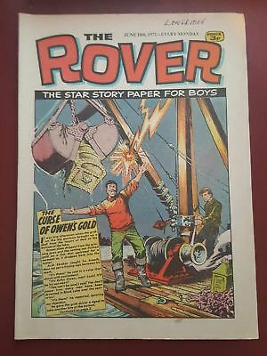 The Rover Comic - June 10th 1972 - The Star Story Paper for Boys #B2138