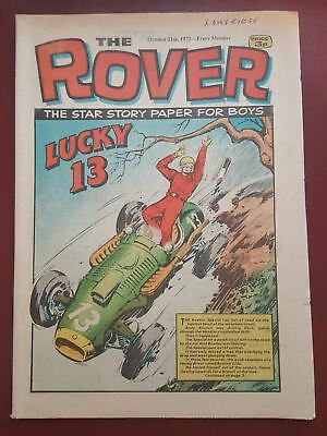 The Rover Comic - October 21st 1972 - The Star Story Paper for Boys #B2127
