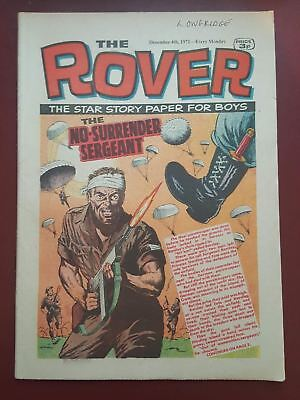 The Rover Comic - December 4th 1971 - The Star Story Paper for Boys #B2172