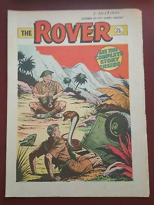 The Rover Comic - October 2nd 1971 - The Star Story Paper for Boys #B2122