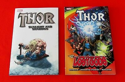 Thor: Sunlight And Shadow TPB & Thor: The Lost Gods TPB (Marvel) Mike Deodato