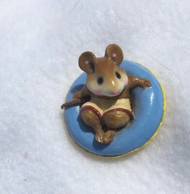 Wee Forest Folk Fun Float Mouse- Adorable!